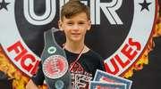 Tobiasz Ociepski zamiast złotego medalu przywiózł pas mistrzowski
