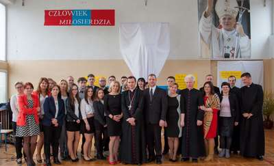 Wizyta biskupa Mirosława Milewskiego