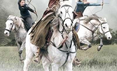 Majówka z łukiem i koniem