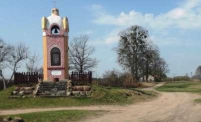 Kapliczka w Radostach