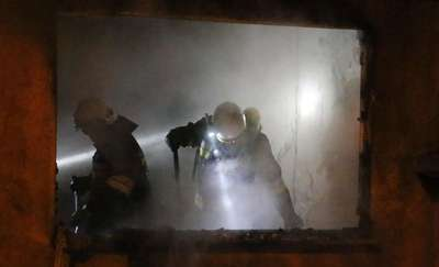 72-latek podpalił się we własnym mieszkaniu