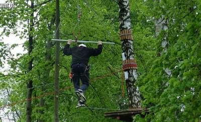 Park linowy w Lubawie otwiera tegoroczny sezon!