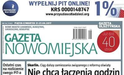 """Nowa """"Gazeta Nowomiejska"""" już jutro!"""