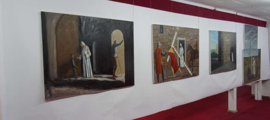 Kadr z wystawy Andrzeja Walska
