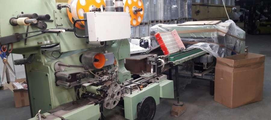 Fot. CBŚP  Zarówno w Polsce jak i w Hiszpani funkcjonariusze zabezpieczyli maszyny do produkcji papierosów i tony tytoniu.