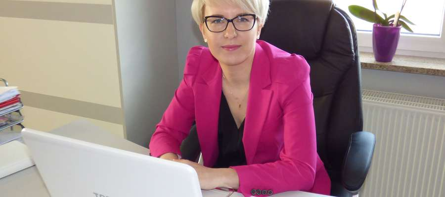 Agnieszka Bergolc-Sikorska, właścicielka Biura Rachunkowego Idea, przy ul. Wysokiej 9/10 w Mławie, radzi, jak założyć firmę