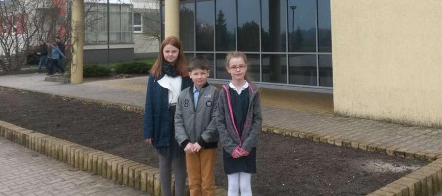 Młodzi finaliści z Samorządowej Szkoły Podstawowej nr 4 w Iławie