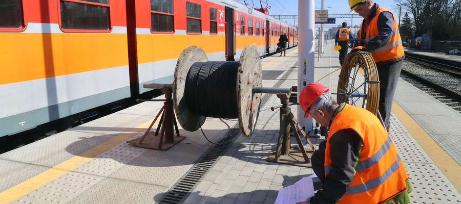 Dworzec Zachodni  Olsztyn-remont i przebudowa Dworca Zachodniego PKP