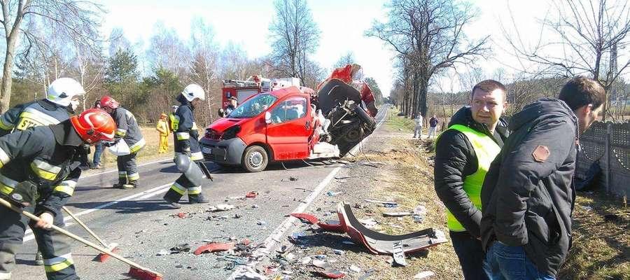 W tragicznym wypadku zginęło 5 mieszkańców powiatu żuromińskiego.