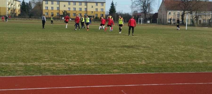 Mazur Wydminy rozegrał sparing z Pogonią Banie Mazurskie