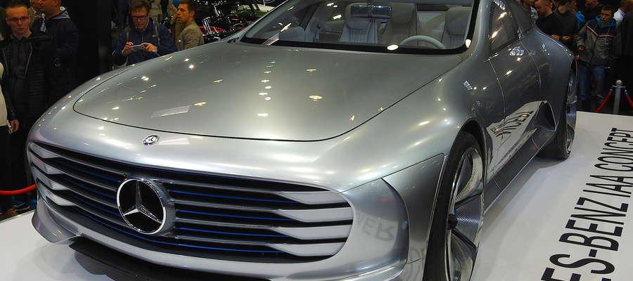 Futurystyczna koncepcja mercedesa szokowała moto-fanów