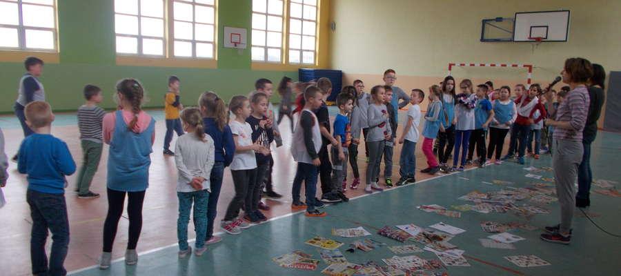 Podczas konkursu w szkole