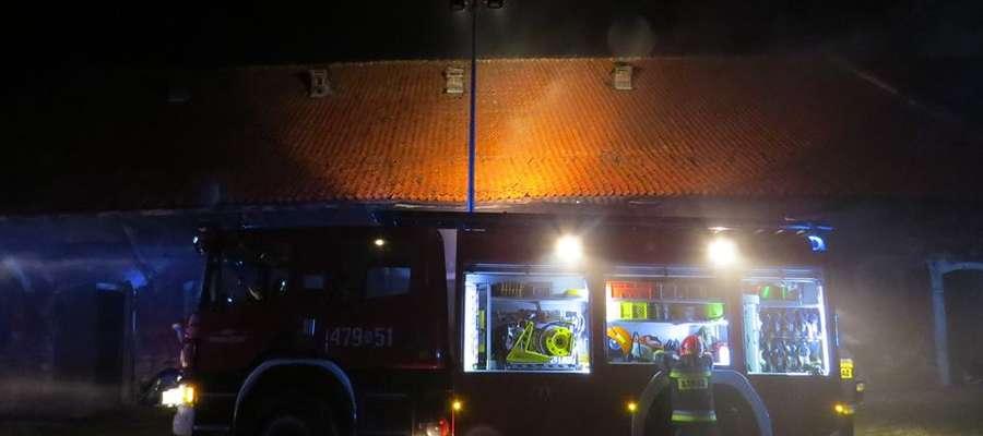 Na strażaków z Drogosz można liczyć zawsze. Do pożaru budynku gospodarczego wyjechali... godzinę po rozpoczęciu nowego roku.