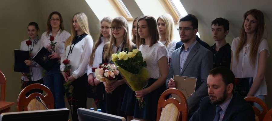 Uroczyste wręczenie nastąpiło 31 marca podczas XXI sesji Rady Powiatu w Elblągu