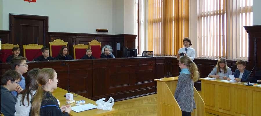 Lekcja w sądzie