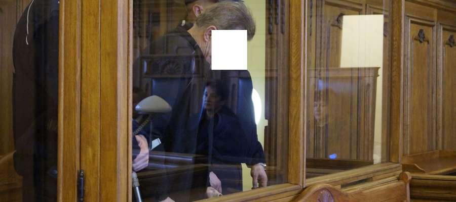 Jan M. podczas ogłoszenia wyroku
