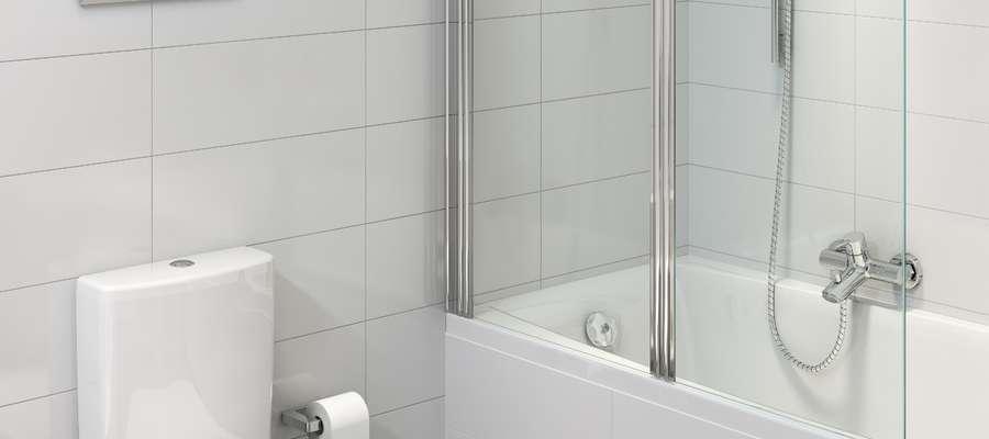 Po tym remoncie mała łazienka otrzyma dodatkową przestrzeń