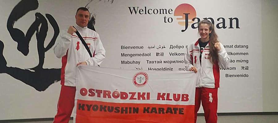 Natalia Stachowicz i Artur Małż pozdrawiają z Japonii
