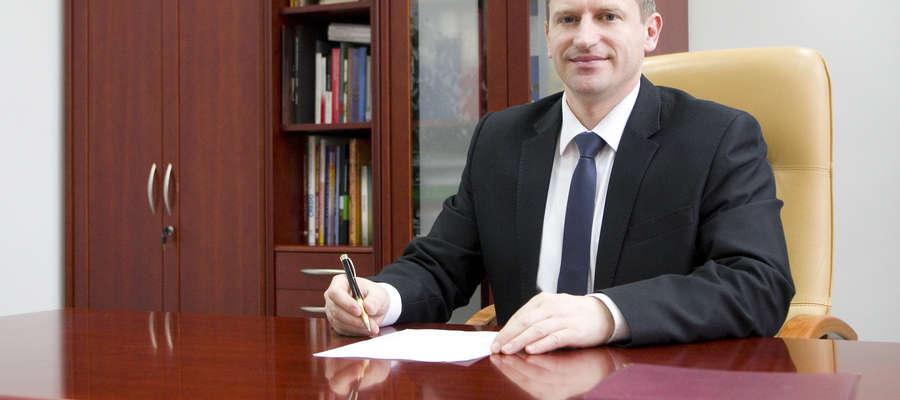 Inwestycje - wywiad z burmistrzem Jackiem Wiśniowskim
