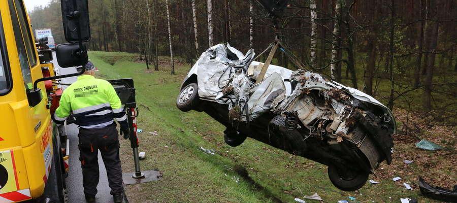W pobliżu Naglad samochód dostawczy zderzył się z cieżarówką
