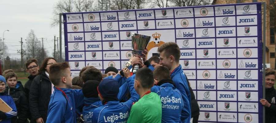 Legia-Bart wygrała na Łotwie turniej Olaine Cup w kategorii młodzików