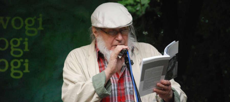 KRZYSZTOF KARASEK – laureat pierwszej edycji Nagrody Poetyckiej ORFEUSZ im. K. I. Gałczyńskiego