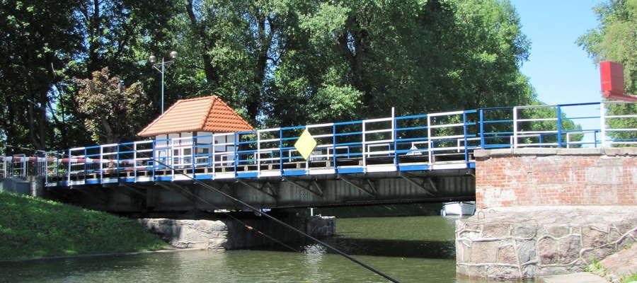 Most obrotowy w Giżycku