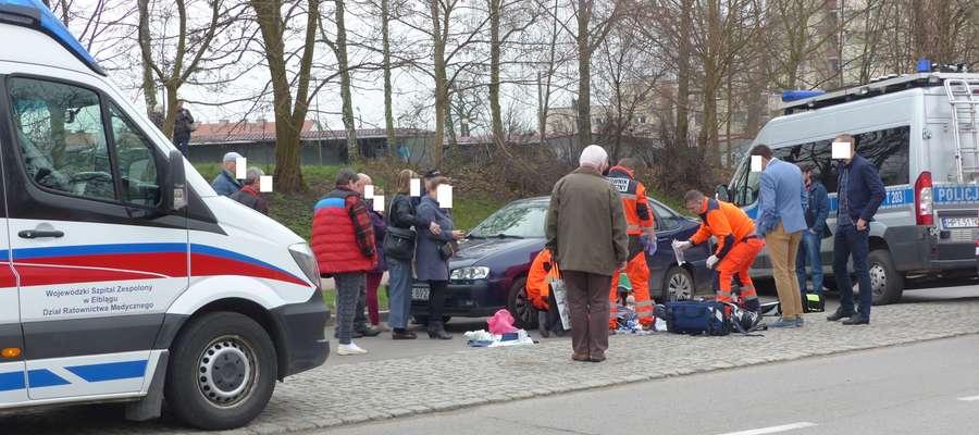 Wypadek na ul. Brzeskiej