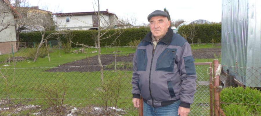 Alfred Sobolewski, działkowiec ze Szczytna