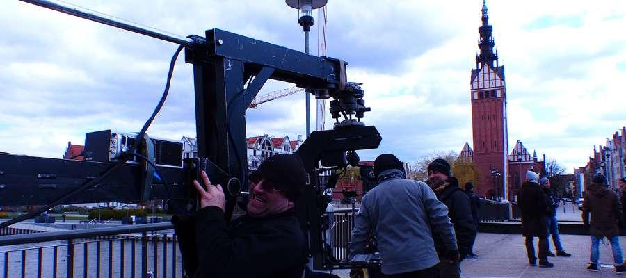 Zdjęcia do spotu reklamowego kręcone na Moście Wysokim