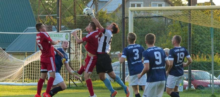 W meczu rundy jesiennej GKS Wikielec wygrał u siebie z Unią 2:1
