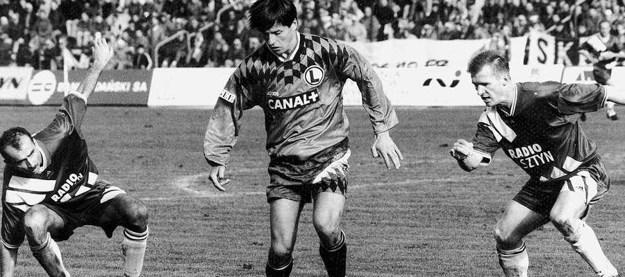 Sezon 1995/96: Stomil Olsztyn - Legia Warszawa 1:1
