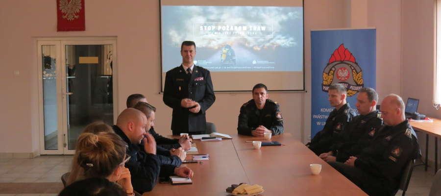 Spotkanie u strażaków w LW