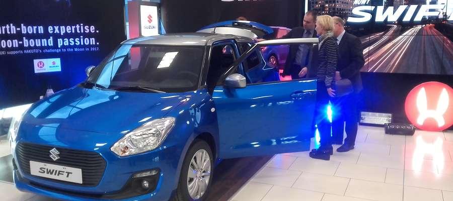 Swift, ignis i pojazd księżycowy od Suzuki