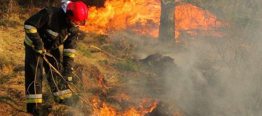 Wypalanie traw może skończyć się tragicznie