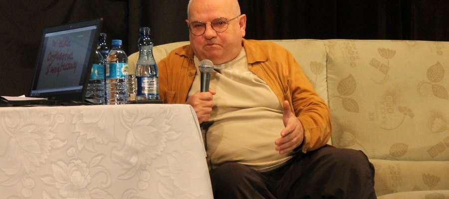 """Walter Chełstowski to m.in. twórca festiwalu w Jarocinie i producent legendarnego programu """"Róbta, co chceta"""""""