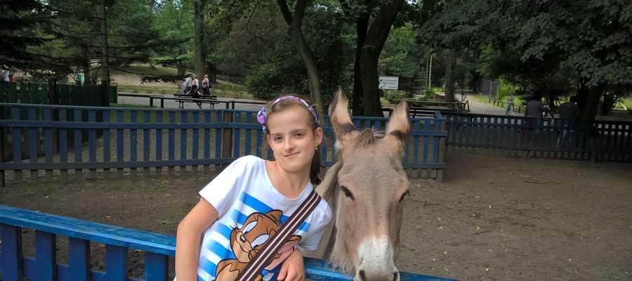 Ada Wieczorek, podopieczna Fundacji Przyszłość dla dzieci