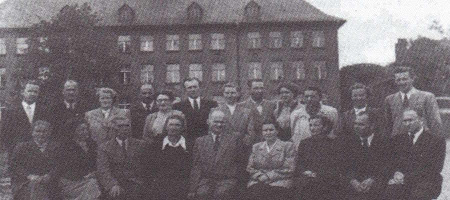 """Nauczyciele """"11 latki"""" w 1955 r."""