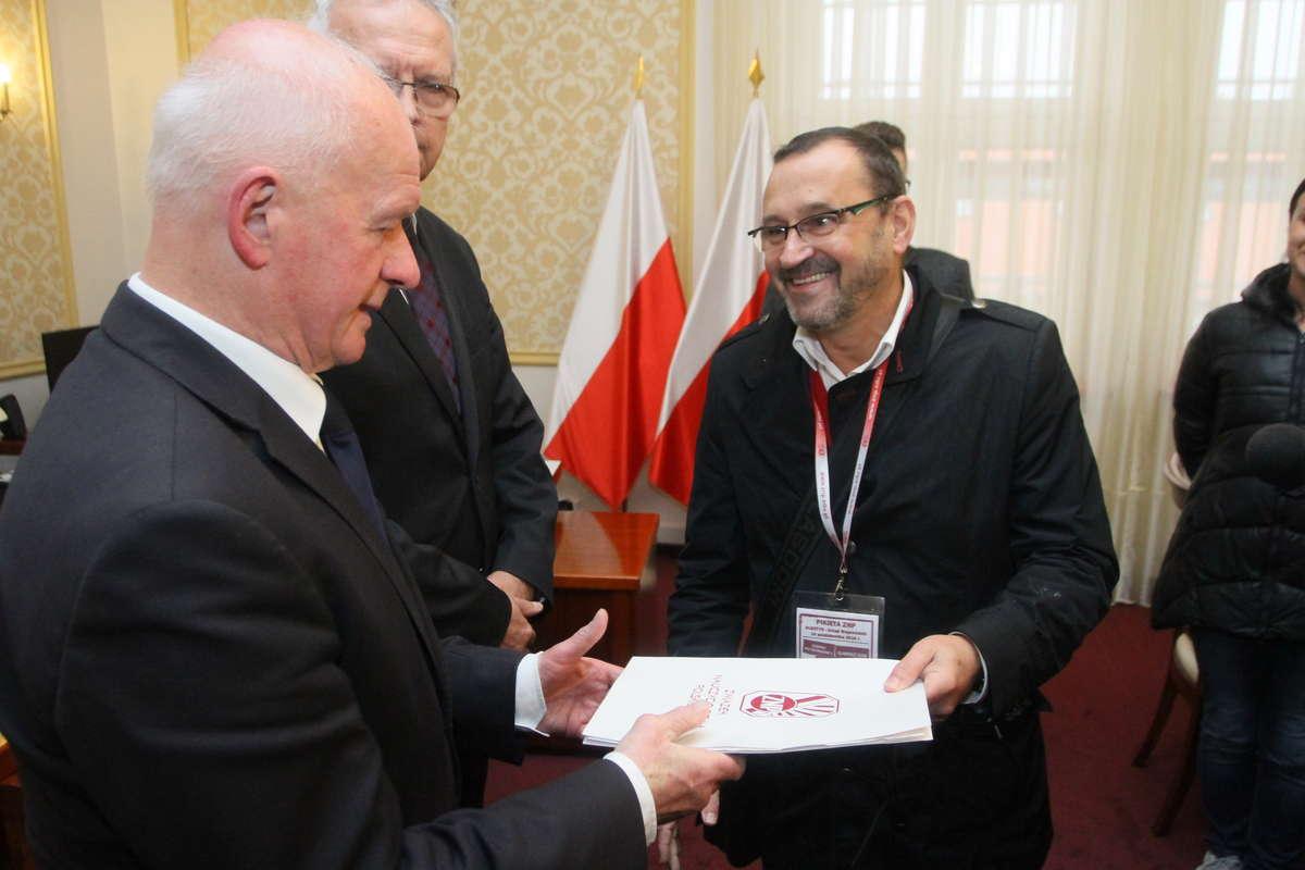 Janusz Koziński, ZNP,
