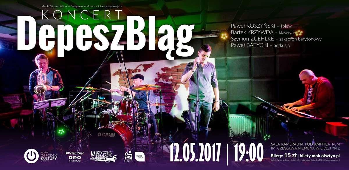 Bartosz Krzywda z projektem DepeszBląg - full image