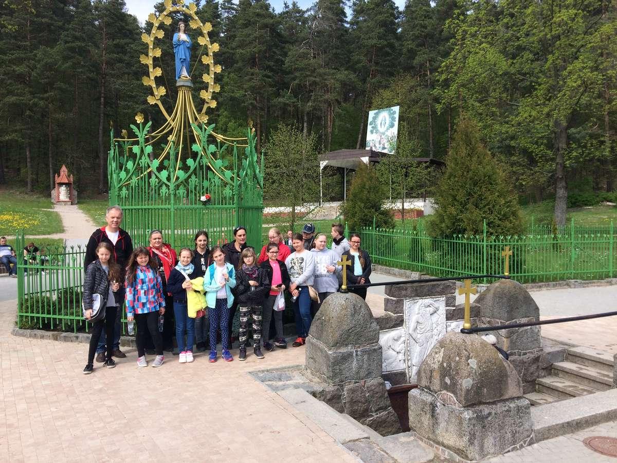 W czasie wizyty w Gietrzwałdzie