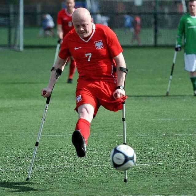 Maciej Kosiorek, piłkarz bez nogi