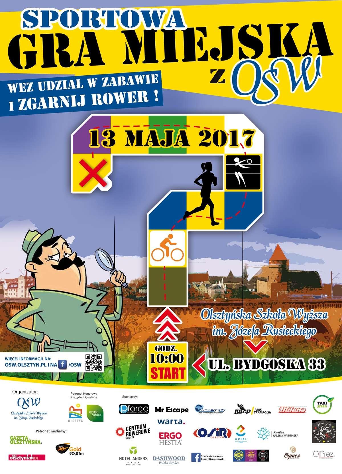 """Gra miejska """"OSW na sportowo"""" - full image"""