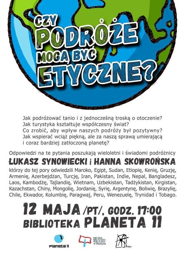 Spotkanie z podróżnikami Hanną Skowrońską oraz Łukaszem Synowieckim - full image