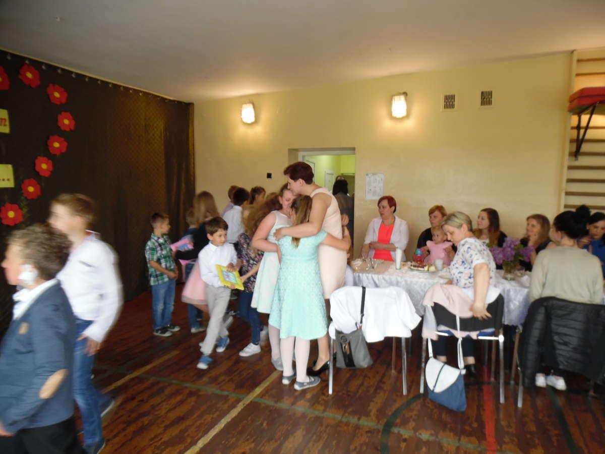 Podczas uroczystości w szkole w Boleszynie