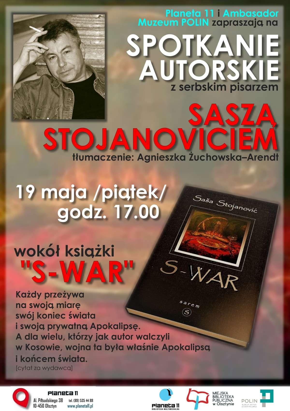 Spotkanie z Saszą Stojanoviciem  - full image