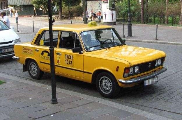 ilustracja taxi - full image