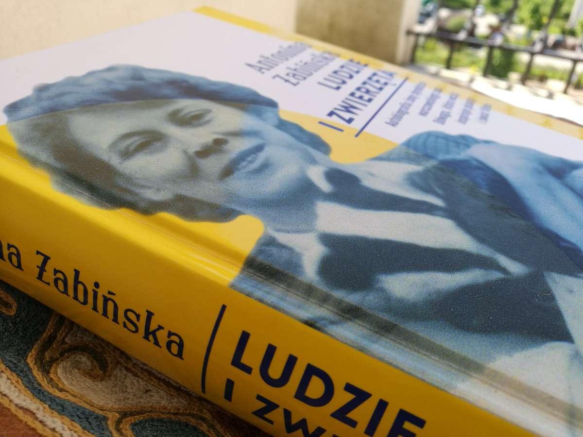 Wspomnienia Antoniny Żabińskiej wznowiono po blisko 50. latach od I wydania. - full image