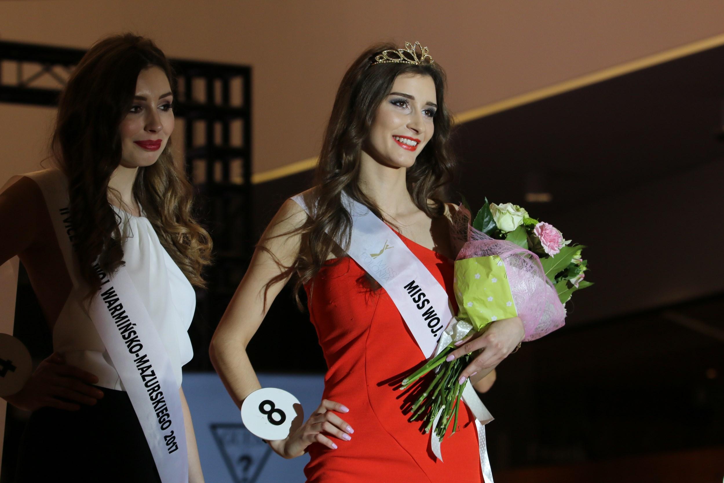 Monika Czajkowska założyła koronę Miss Polonia Warmii i
