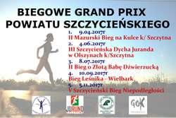 Biegowe Grand Prix Powiatu Szczycieńskiego